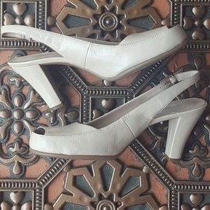 Nude Aerosales  Sling back size 8.5 never worn